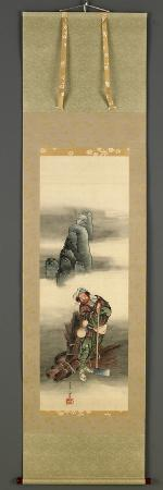 Woodcutter, Edo Period, 1849