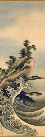 Breaking Waves, Edo Period, 1847