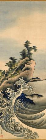 Breaking Waves, Edo Period, 1847