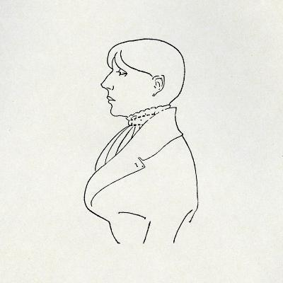 Portrait of the Artist in Outline