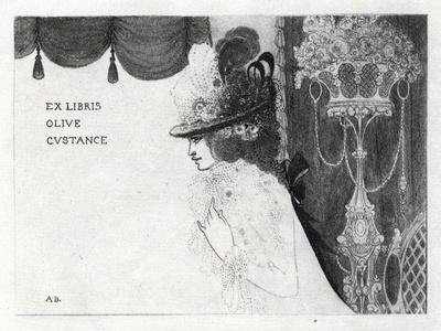 Design for a Book-Plate for Olive Custance