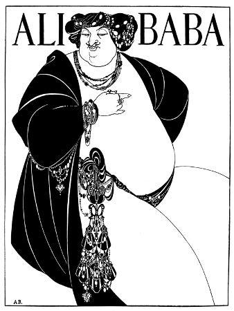 Cover Design for Ali Baba, 1897