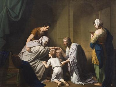 Jacob Blessing Ephraim and Manasseh, 1766-68