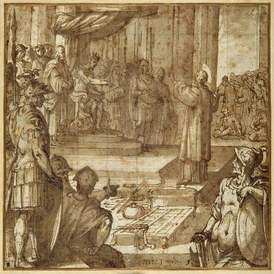 St Lawrence Discourses in the Presence of the Prefect Decius, 1581