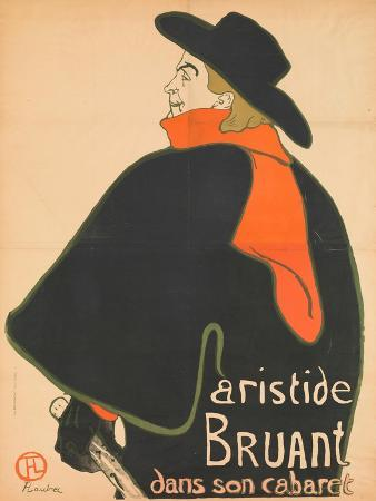 Aristide Bruant in His Cabaret, 1893