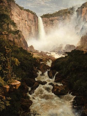 The Falls of the Tequendama Near Bogota, New Granada, 1854
