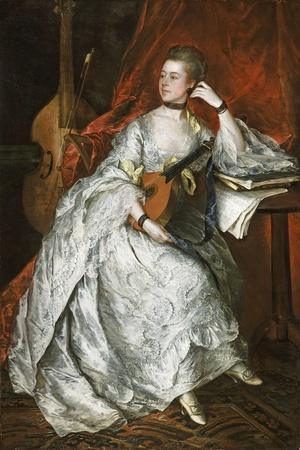 Ann Ford (Later Mrs Philip Thicknesse), 1760