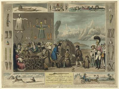 Laplanders, Reindeer Etc., as Exhibited at the Egyptian Hall, Piccadilly, 1822