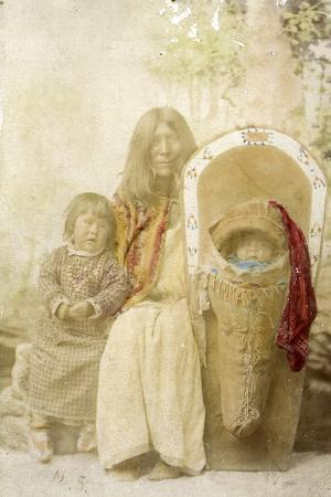 Ute Indians, from Southern Colorado, 1895