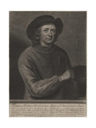 Thomas Britton, Engraved by John Simon (1675-1751), 1703