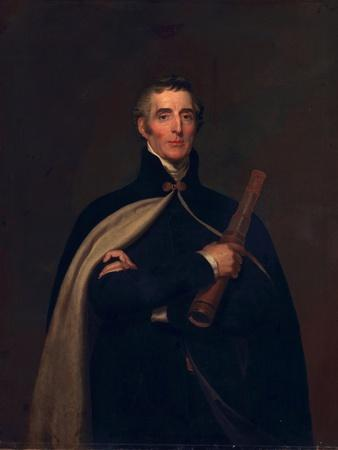 Arthur Wellesley, Duke of Wellington, with a Telescope