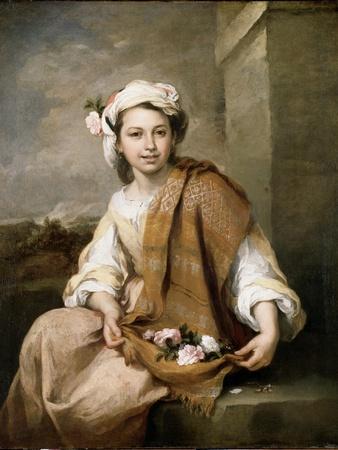 The Flower Girl, C.1665-70
