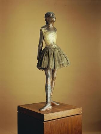 Little Dancer of Fourteen Years, 1879-81, Cast 1921
