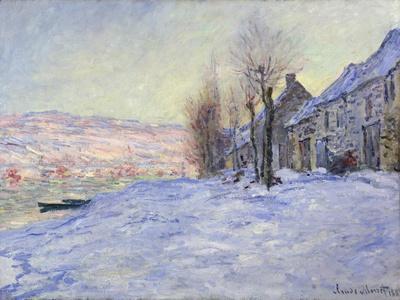 Lavacourt under Snow, 1881