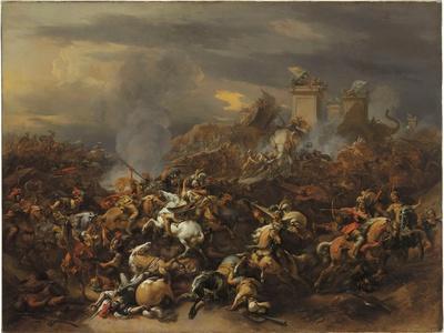 The Battle Between Alexander and Porus