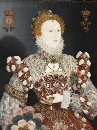 Queen Elizabeth I - the Pelican Portrait, C.1574