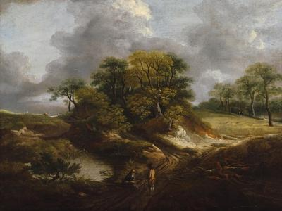 A Landscape, Traditionally Identified as a View Outside Sudbury