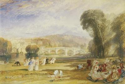 Richmond Hill and Bridge, Surrey, C.1831