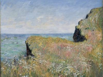 Edge of the Cliff, Pourville, 1882