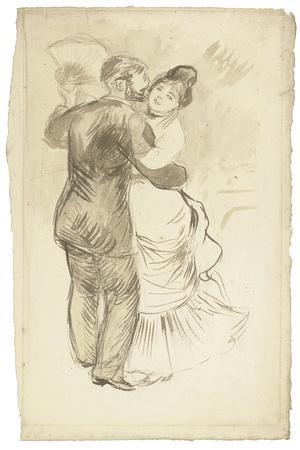 Study for 'Countryside Dance', 1883