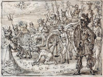 Triumphal Entry of the Indian Bacchus into Thebes