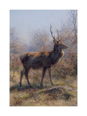 The Stag, 1875