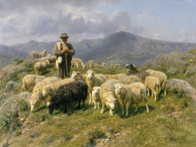 Shepherd of the Pyrenees, 1888