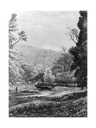 In Werrington Park, 1823