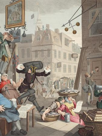 Beer Street, Illustration from 'Hogarth Restored: the Whole Works of the Celebrated William…