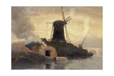 Windmill and Brick Kiln on Riverside