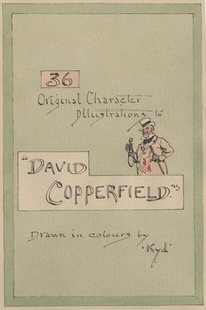 Title Page, Illustrations for 'David Copperfield', C.1920s