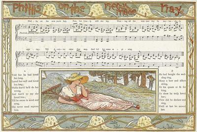 Phillis on the New Made Hay', Song Illustration from 'Pan-Pipes', a Book of Old Songs, Newly…