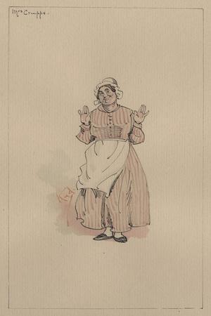 Mrs Crupps, C.1920s