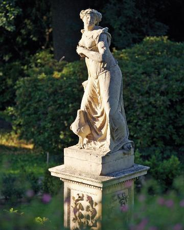 Juno Statue in the Rose Garden, Belvoir Castle, Leicestershire