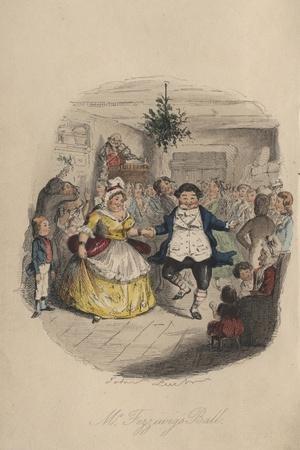 Fezziwig's Ball - a Christmas Carol, 1843