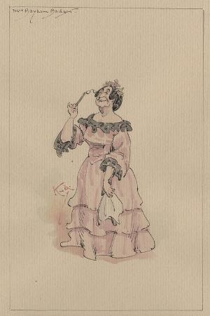 Mrs Bayham Badger, C.1920s