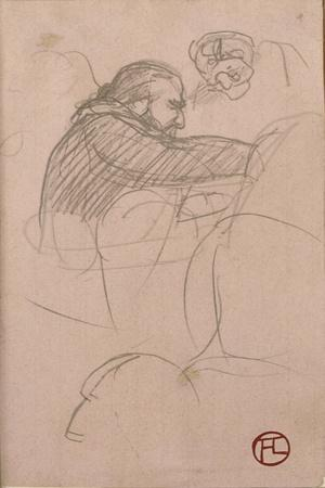 The Surgeon Pean Operating (Man in Profile), 1891