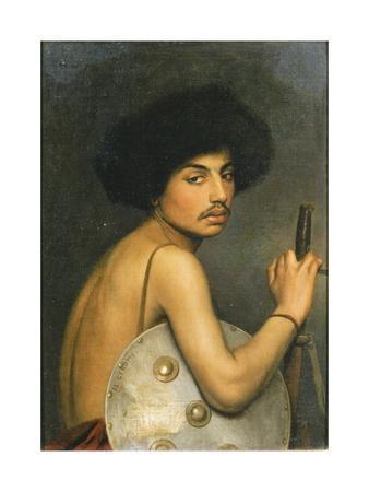 Bisharin Warrior, 1872