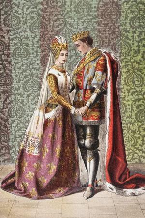 Katharine Speaks in Henry V, Act V, Scene II, 'Dat Is as it Sall Please De Roi Mon Pere', from…