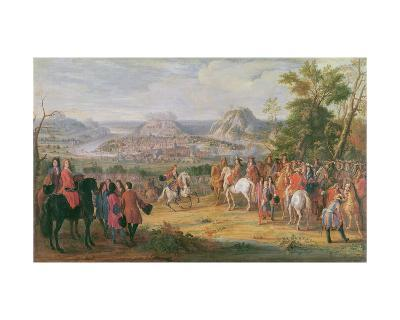 Louis Xiv at the Siege of Besançon in May 1674