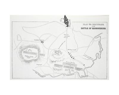 Plan to Illustrate the Battle of Bannockburn