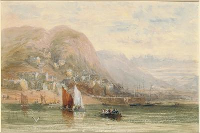 View of Barmouth, North Wales