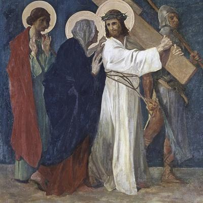 Jesus Meets His Mother (4th Station of the Cross) 1898