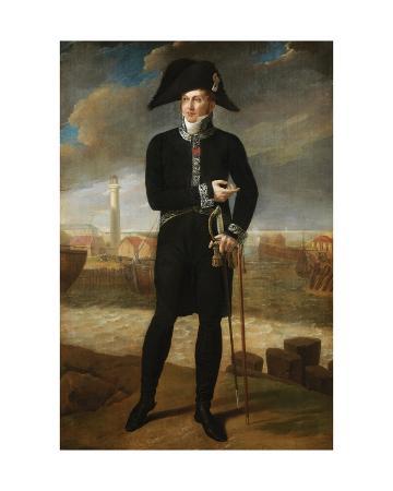 Portrait of Bernard-François, Marquis De Chauvelin