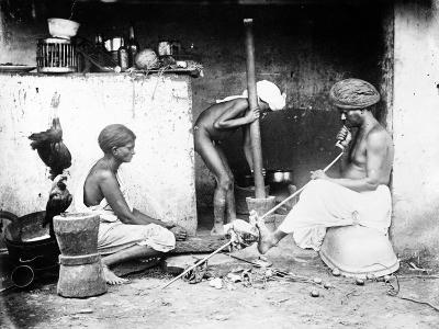 An Indian Kitchen, C.1870s