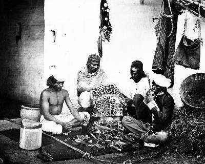 Horsekeepers, or 'Ghorawallahs', C.1860s