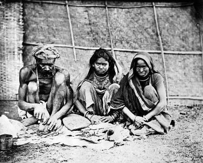 Chai Wallahs, from 'Photographs of Indian Subjects' C.1860s