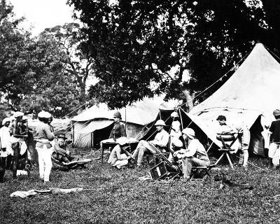 British Indian Army Camp, C.1860s