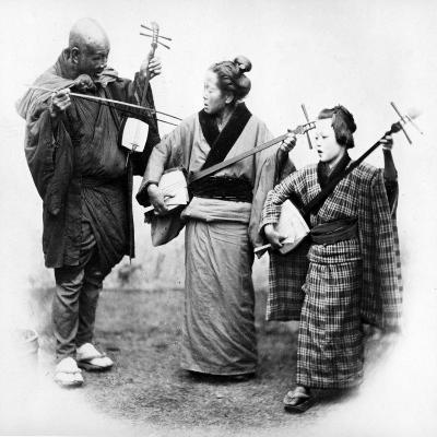 Japanese Musicians, C.1860s