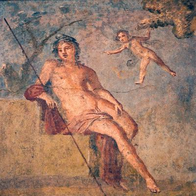 Cupid Leading Zeus's Eagle to Ganymede, from the House of Meleager, Pompeii